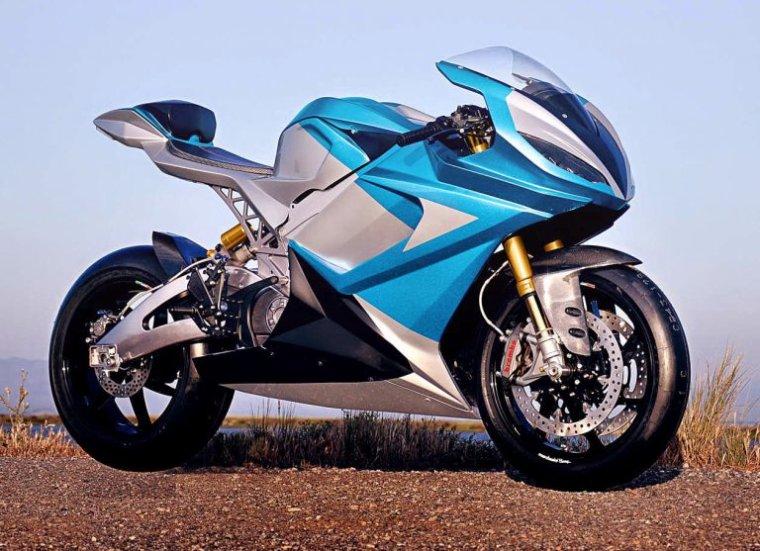 La moto électrique série la plus rapide au monde - Lightning LS-218....