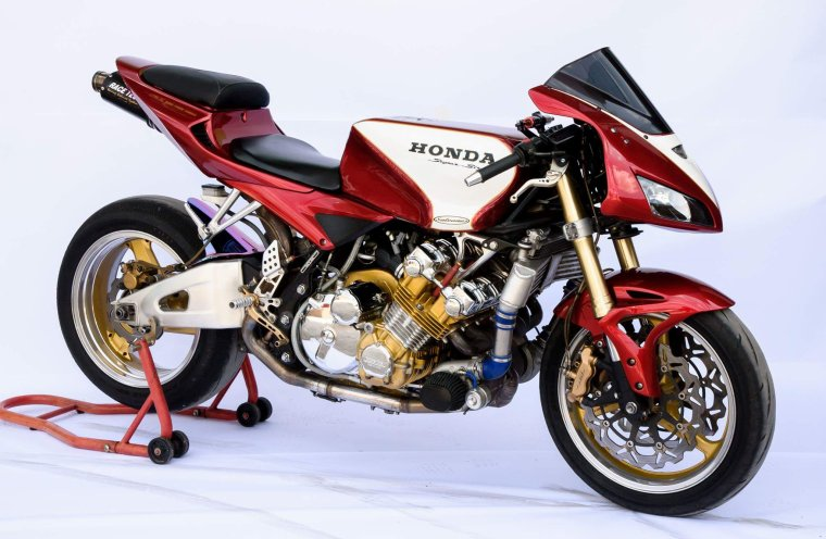 Honda CBX 1000 twin turbo...