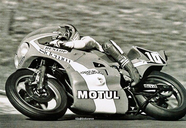 Michel Rougerie, Kawasaki Godier-Genoud, Bol d'Or 1977...