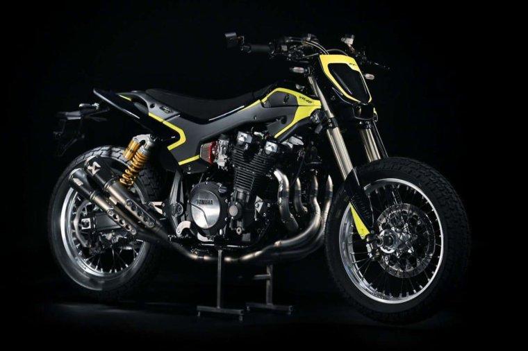 Yamaha XJR 1300 VR46 Flat Track....
