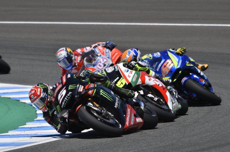 J.Zarco #05 termine 2ème à Jerez, Espagne....