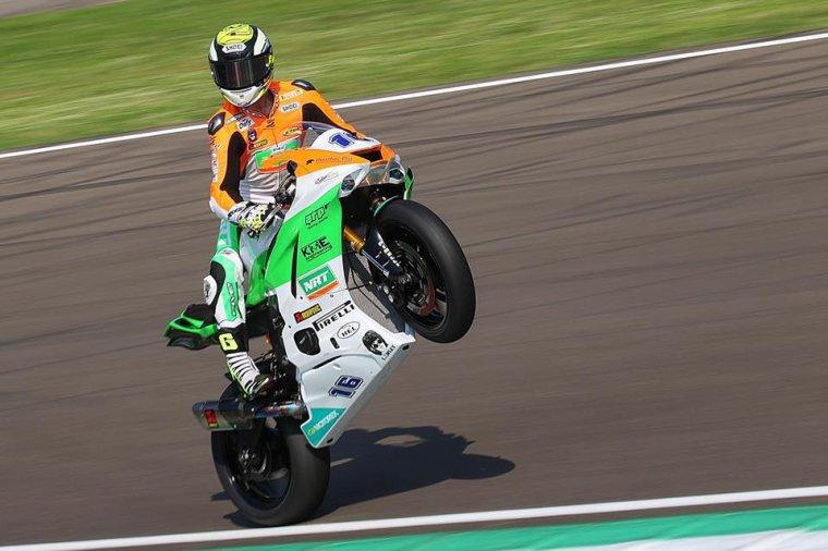 Jules Cluzel #16, vainqueur en World Supersport à Imola et en tête du championnat....