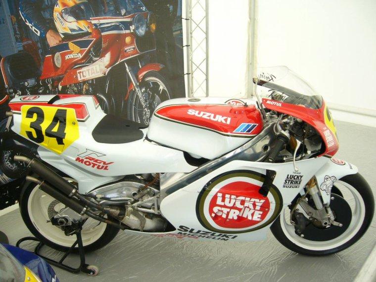 La Suzuki 500 RG de K.Schwantz...