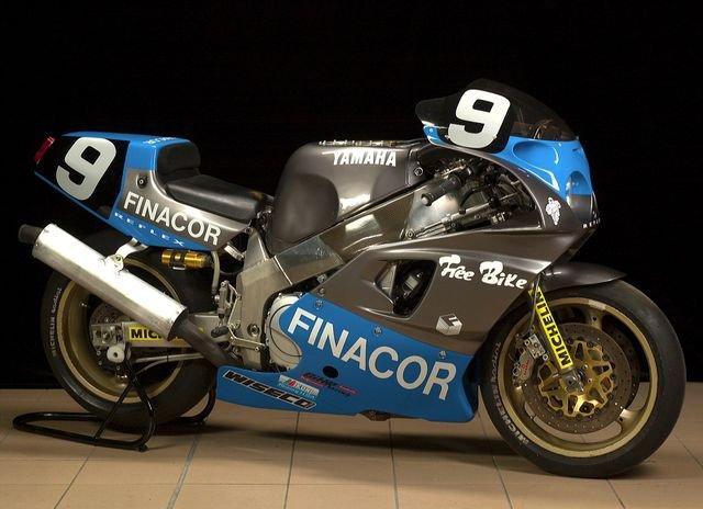 Les 24 Heures du Mans , en 1991 sur la Yamaha OW31 Finacor n°9,   Rachel Nicotte, Bruno Bonhuil et Philippe Monneret...