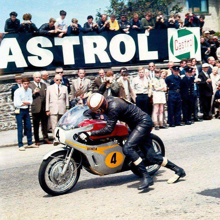 Tourist Trophy 1967, Mike Hailwood Honda RC 181