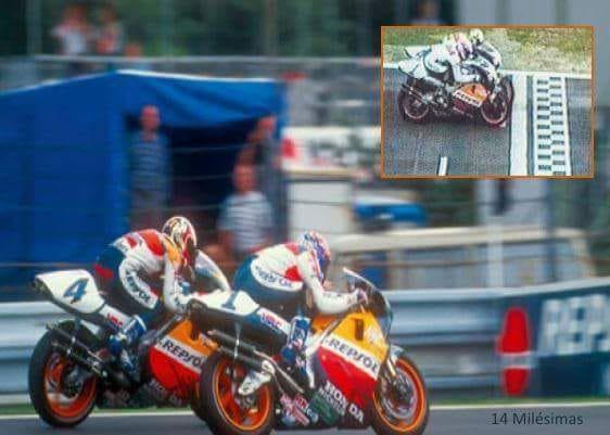 Grand-Prix 500  de République-Tchèque 1996 au finish....
