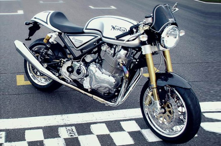 Norton Commando 961 Cafe Racer 2015...