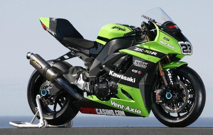 Kawasaki ZX-10R 1000 Factory superbike 2009