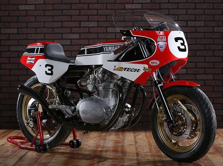 Yamaha SR500....
