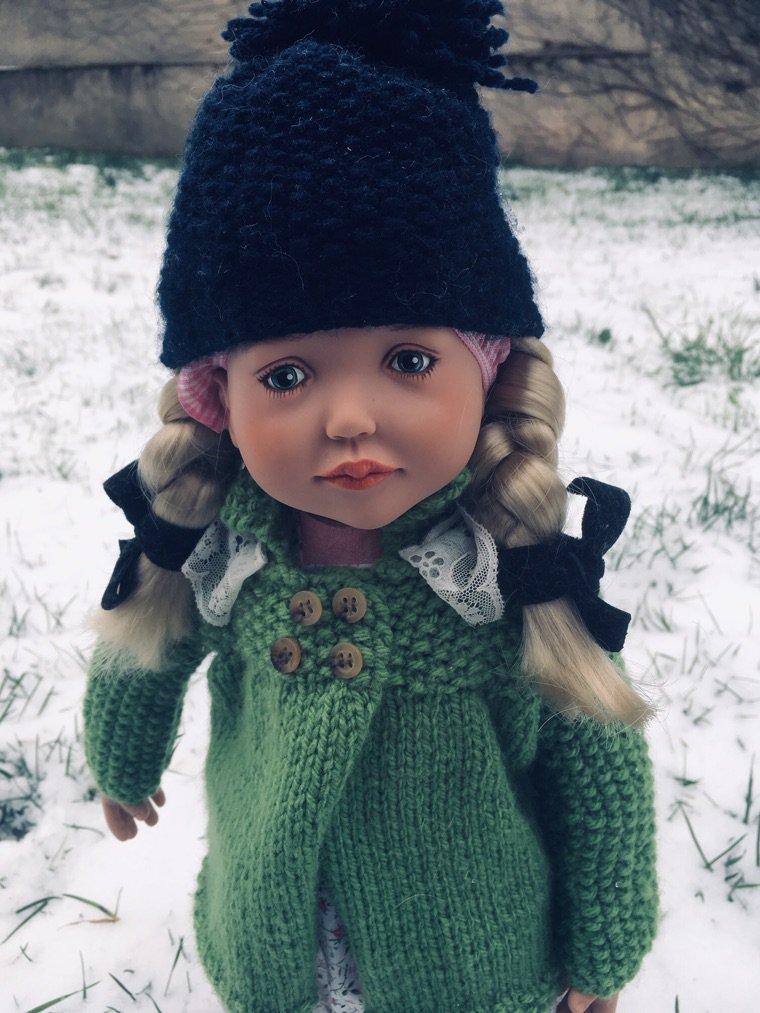 Rena-Angèle et la neige