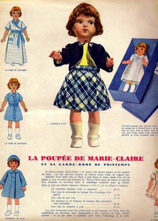 Mes Marie-Claire pour Virginie mais pas que !