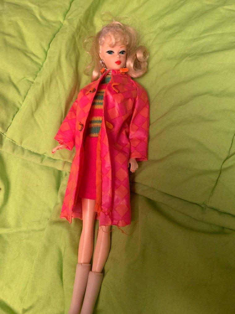 Barbie a fait quelques essayages ....