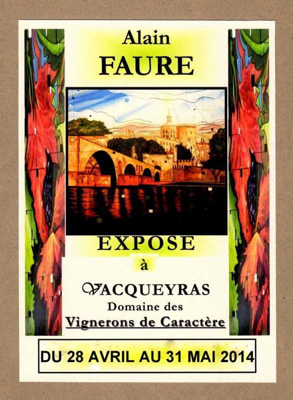 EXPOSITION ALAIN FAURE