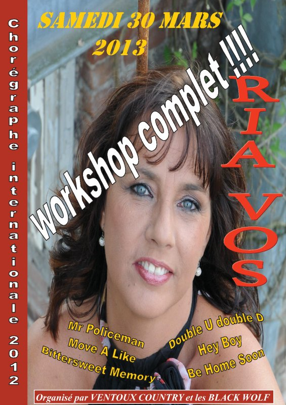 ATTENTION WORKSHOP COMPLET !!!!!!!!