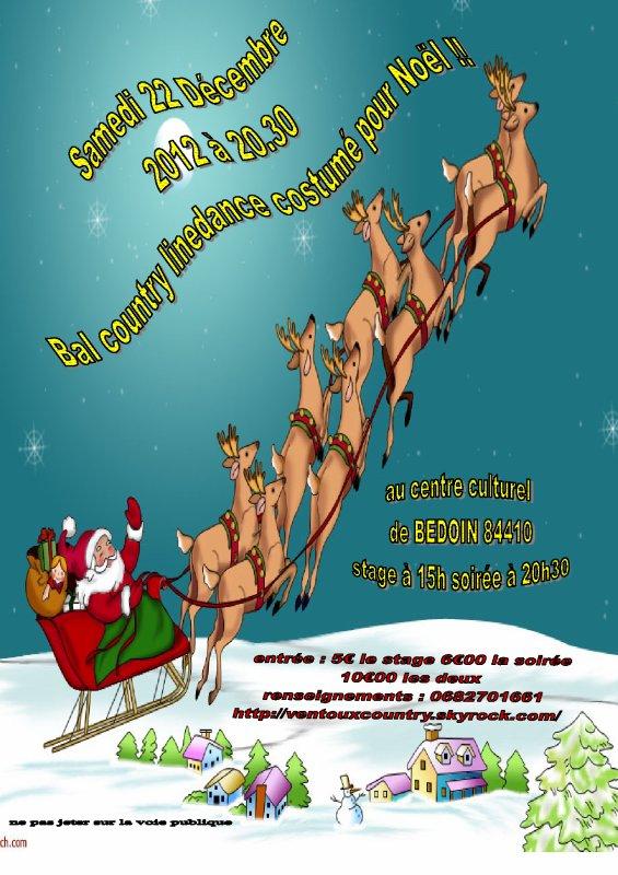 bal de Noël à Bedoin !!!!!