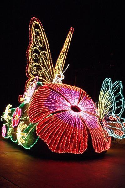 Des chars de La Parade de Nuit Fantillusion - Disneyland Paris 1