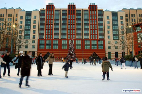 EURODISNEY L'hotel le NEW YORK l'hiver