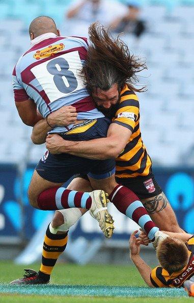 le rugby, c'est ça