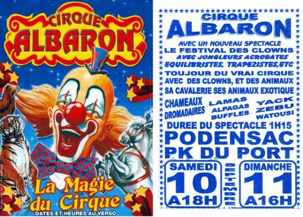 LE CIRQUE ALBARON