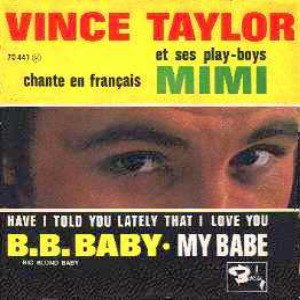 VINCE TAYLOR 3  - What'd I say