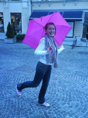 Dancing in the rain:D