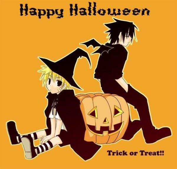OS de Nowa : Halloween ... ou quand tout dérape