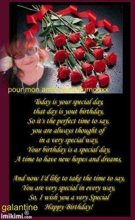♫♥♫ cadeau pour mon amie xxamournouxx je te souhaite un joyeux anniversaire♫♥♫