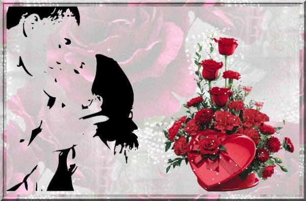 ♫♫ bon saint Valentin pour tout ceux qui sont amoureux gros bisous ♫♫