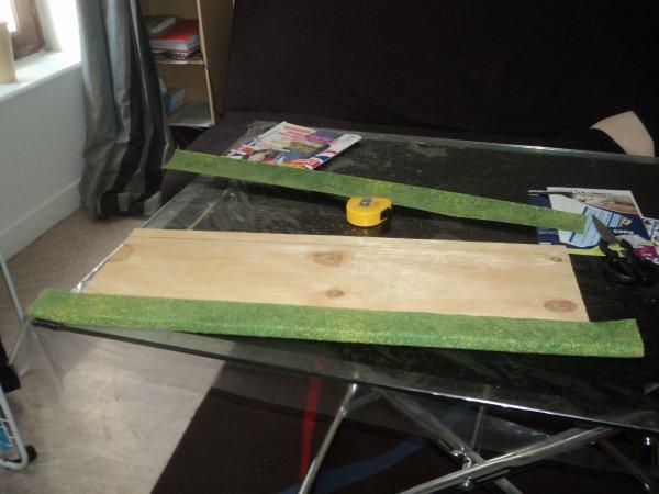 Réalisation d'un présentoir pour miniatures agricoles