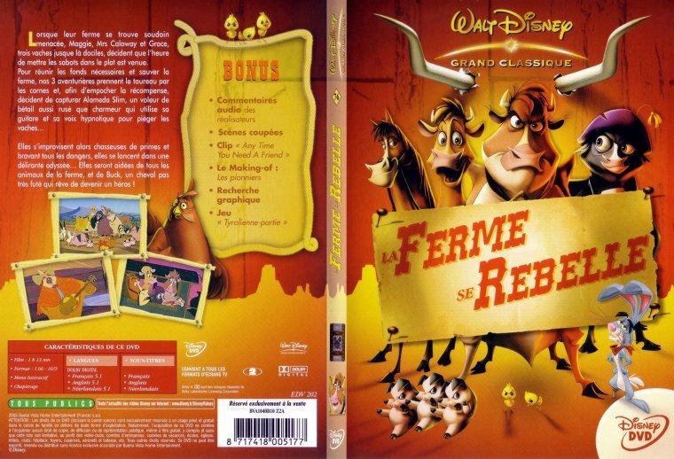 Dvd dessins anim s disney la ferme se rebelle 76 disney baby face et cie - Cheval de rebelle ...
