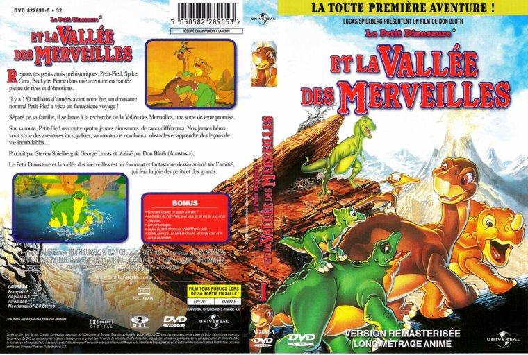 Dvd dessins anim s le petit dinosaure et la vall e des merveilles disney baby face et cie - Petit pieds dinosaure ...