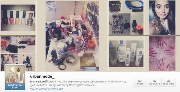 Le blog a Instagram!