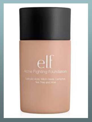 Article 9: Fond de teint anti-acné de chez ELF