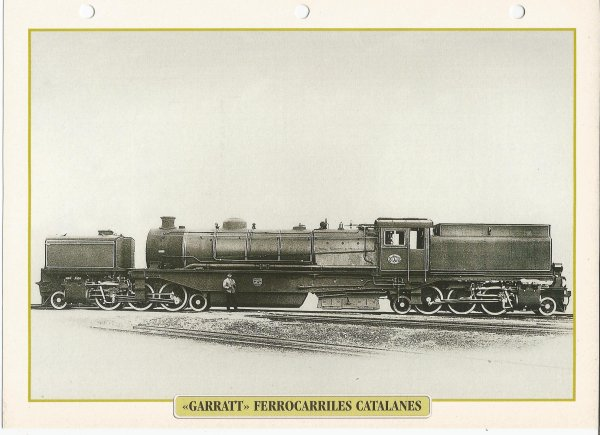 """GARRATT"" FERROCARRILES CATALANES"