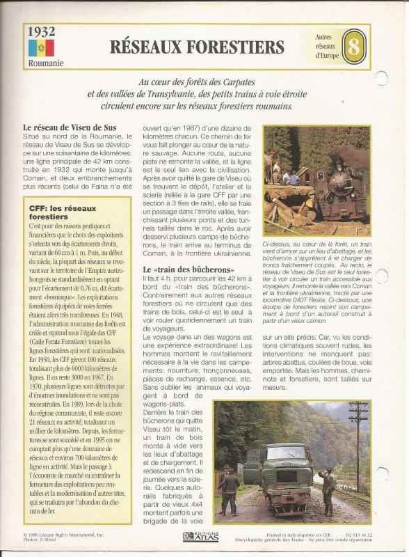 RÉSEAUX FORESTIERS