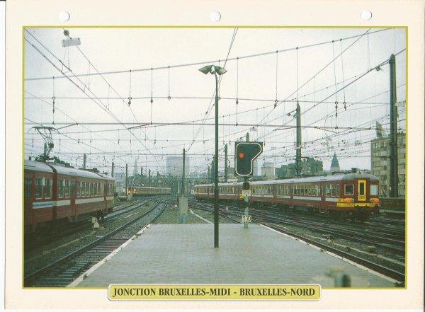 JONCTION BRUXELLES-MIDI - BRUXELLES-NORD