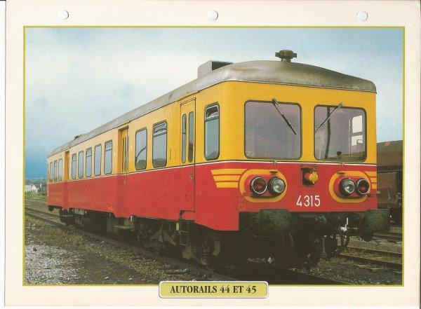 AUTORAIL 44 ET 45