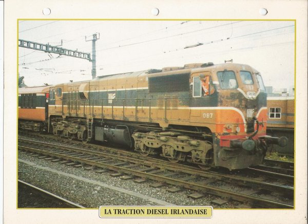 LA TRACTION DIESEL IRLANDAISE