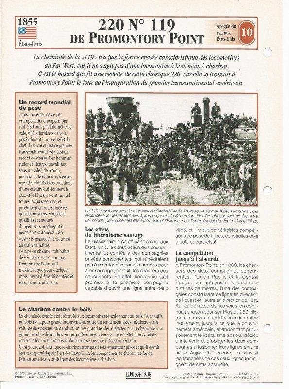 220 N°119 DE PROMONTORY POINT
