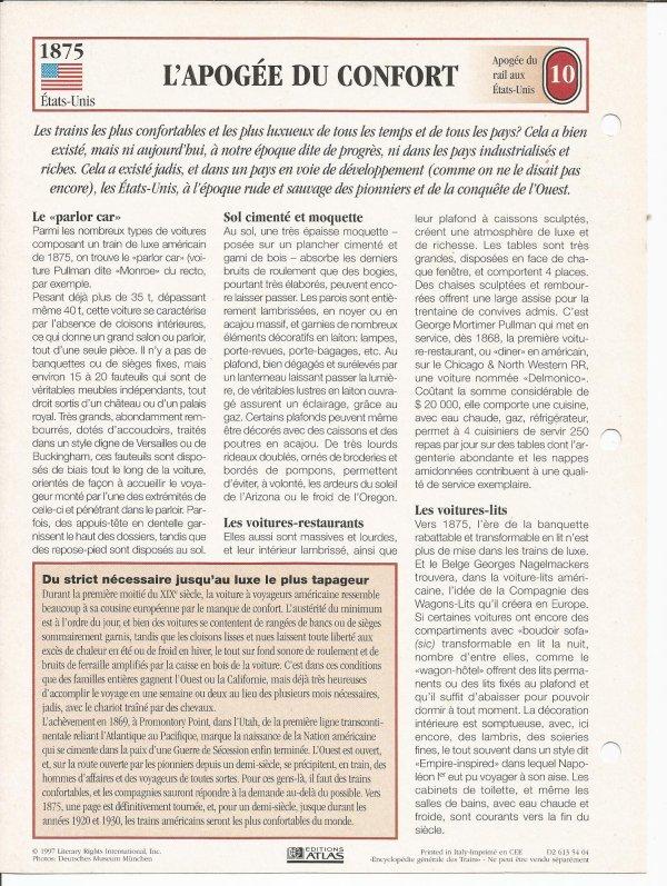 L'APOGÉE DU CONFORT