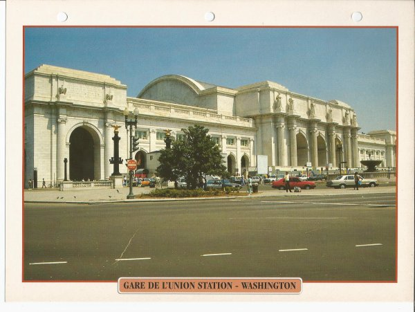 GARE DE L'UNION STATION - WASHINGTON