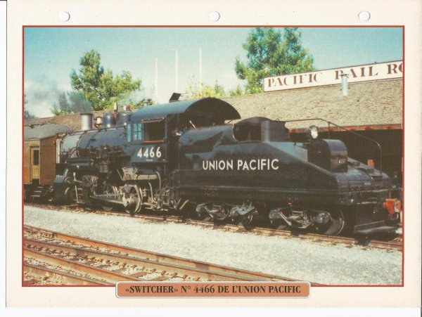"""SWITCHER"" N° 4466 DE L'UNION PACIFIC"