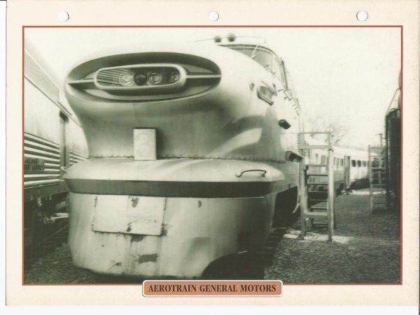 AÉROTRAIN GÉNÉRAL MOTORS