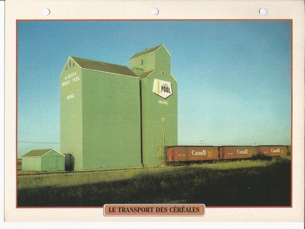 LE TRANSPORT DES CÉRÉALES