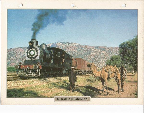 LE RAIL AU PAKISTAN