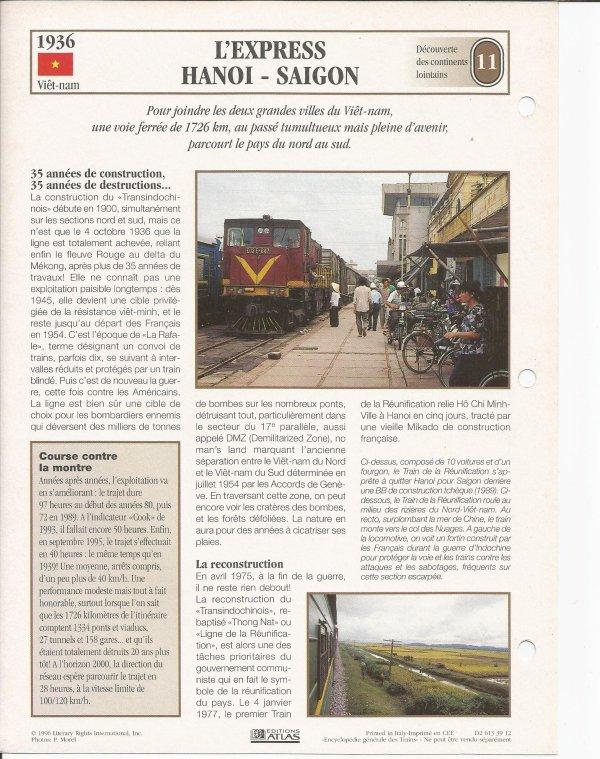 L'EXPRESS HANOI - SAIGON