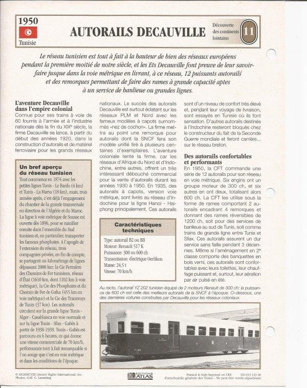 AUTORAILS DECAUVILLE