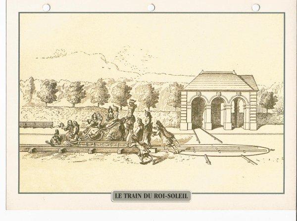 LE TRAIN DU ROI-SOLEIL