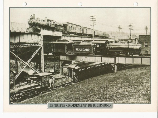 LE TRIPLE CROISEMENT DE RICHMOND
