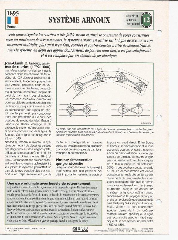 SYSTÈME ARNOUX